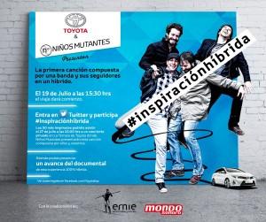 #inspiracionhibrida Niños Mutantes y Sostenibilidad