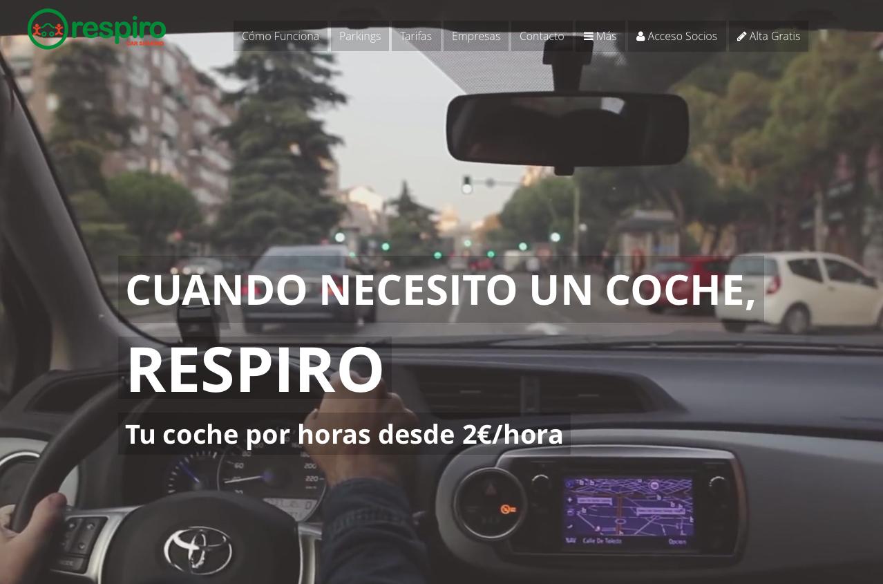 Respiro Car Sharing, Economía Colaborativa