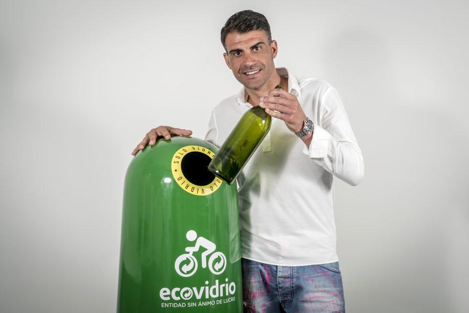 Oscar Pereiro, embajador 2016 de Ecovidrio