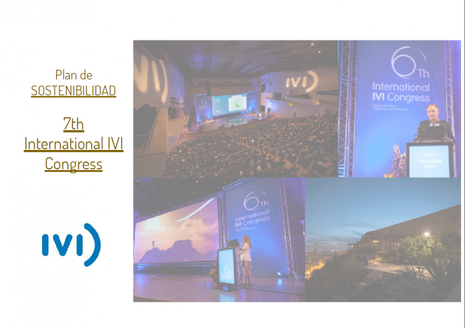 Plan de Sostenibilidad - 7th International IVI Congress