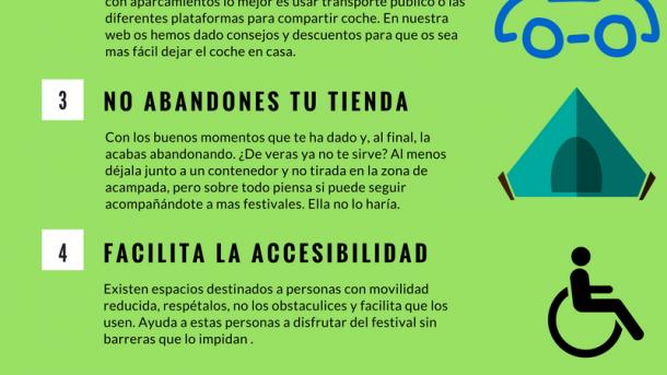 sostenibilidad en festivales de música