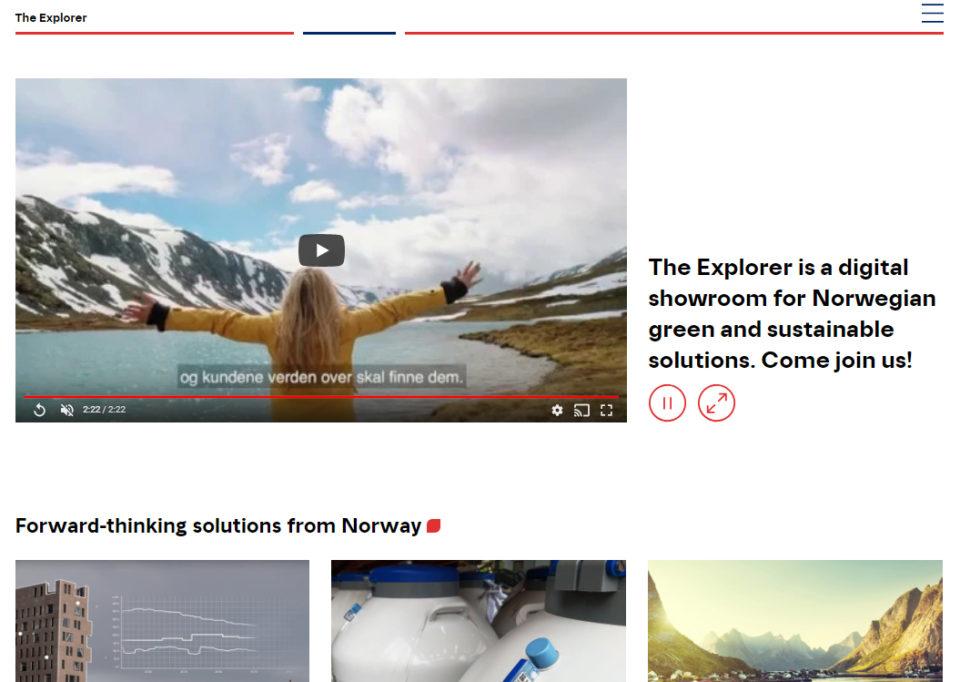 The Explorer: el tinder de las empresas verdes